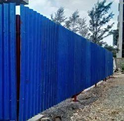 Corrugated Eco Fencing