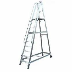 Warehouse Mobile Platform Ladders