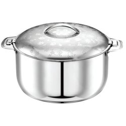 Stainless Steel Orchid Hot Pot