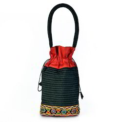 Ethnic Kutch Patch Work Silk Hand Bag
