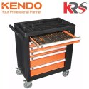 146 pcs Tool Trolley with Tools