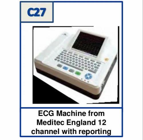 6 Channels ECG Machine, For Hospital, Digital