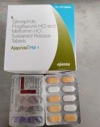 Glimepiride Pioglitazone Tablets