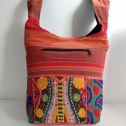 Designer Embroidered Shoulder Bag 171
