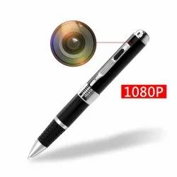Black 16 GB 1080P Pen Camera, CCD