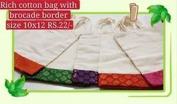 cotton thmboolam bag