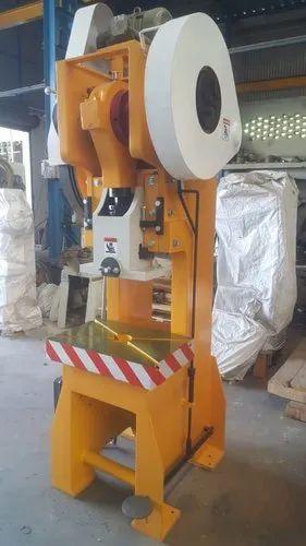Mild Steel 30 Ton C Type Power Press Machine Rs 178000 Unit Harihar Agro Enterprise Id 16562162612