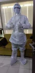 Polypropylene And Non Woven Free Size Personal Protective Equipment