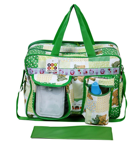 90de4f5c56 Bey Bee Mamas Bag Diaper Bag 18 Ltrs (Green) - Baby And Mom Retail ...
