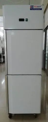 Gray 2 Door Refrigerator, Capacity: 420 L