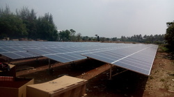 Pole Mounted Solar Structures