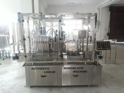 Automatic Milk Filling and Capping Machine