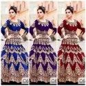 Taffeta Silk Embroidered Lehengas