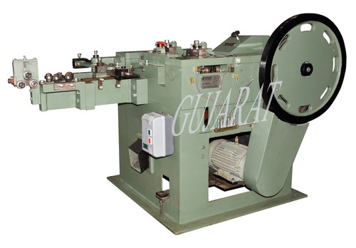 Automatic Iron Nail Making Machine
