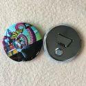 Metal Button Badge Bottle Opener