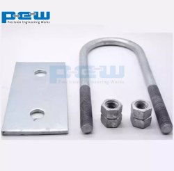 U BOLT, For Pipe Fittings, Size: 6mm To 200mm