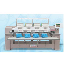 Tubular Function Embroidery Machine