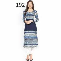 Ladies Trendy Printed Kurti