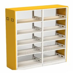 Grey Mild Steel Book Shelf / Case, For Storage Of Books