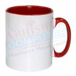 Round Ceramic Inside Color Mug for Gifting