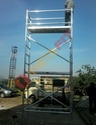 Double Aluminium Scaffold Width Tower