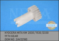 19 Th Gear 2AV22180 Kyocera MITA KM  2030 / 1530 /2330
