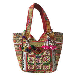 Multicolor Embroidered Handcrafted Stylish Bag