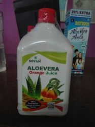 Sovam Aloevera with Orange Juice