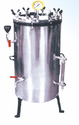 Vertical High Pressure Steam Sterilizer Autoclave