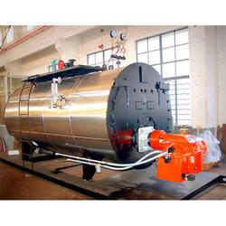 Horizontal Wet Back Oil Steam Boiler