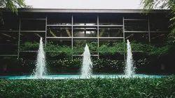 Linear Foam Fountain
