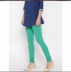 Churidar Cotton Lycra Leggings For Woman