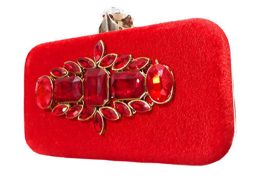9ed2c091d0 Red Manansh Women Flower Clutches Evening Handbags Wedding Clutch Purse