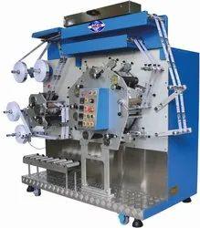 Flexographic Garment Label Printing Machine