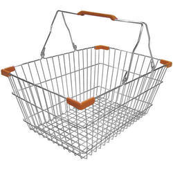 Stainless Steel Shopping Basket