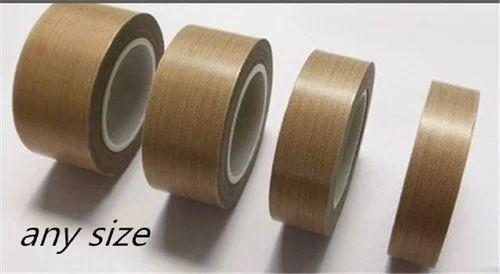 Brown Adhesive Heat Resistant Teflon Tape Supertech Fabrics
