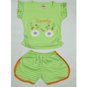 Baby Girl Top and Shorts