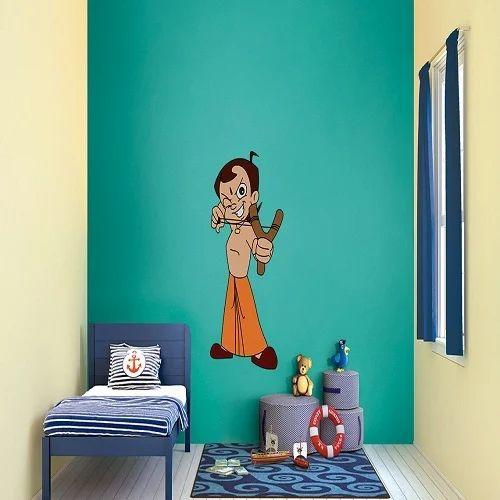 Chota Bheem Stencils Interior Paint
