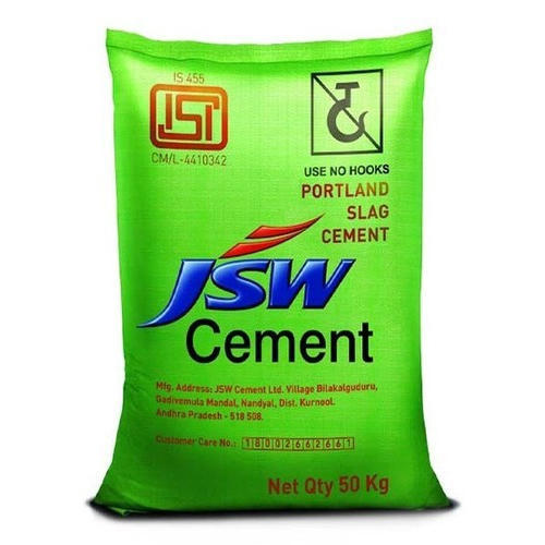 JSW Cement, Packing Size: 50kg/ Bag, Packaging Type: Sack Bag