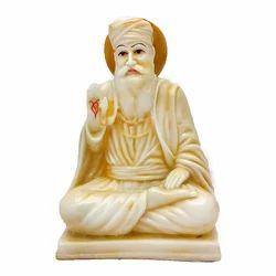 Marble Look Guru Nanak Dev Resin Statue/ Idol Gift Item