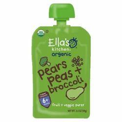 Ellas Organic Baby Food, Pack Size: 99 gram