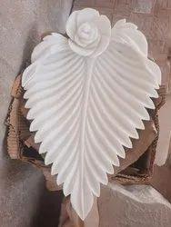 Carved Vertical Marble Urli, For Decoration