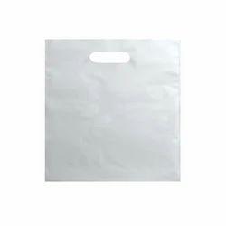 White D Cut Plastic Carry Bag