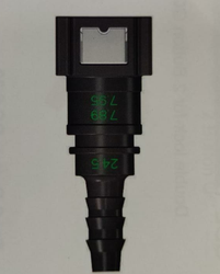 7.89 -ID6-180 Degree Fuel Line Connector