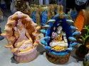 Decorative Ganpati Shivji Statue Indoor Water Fall Fountain