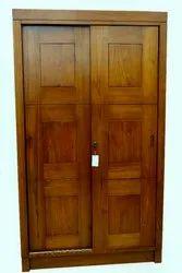 Brown Designer Wooden Wardrobe