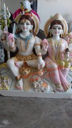 Gaurishankar Marble Statue