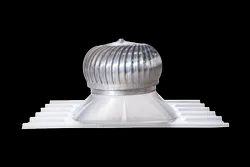 Air Turbo Ventilator With Polycarbonate Base