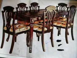Modern Dining Set Six Chair