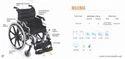 MAXIMA Premium Aluminum Wheelchair